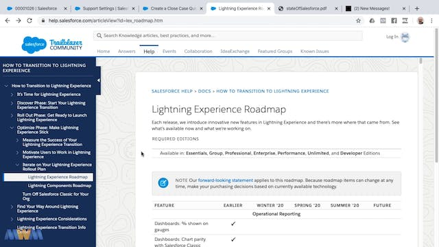 Lightning Roadmap and the State of Sa...