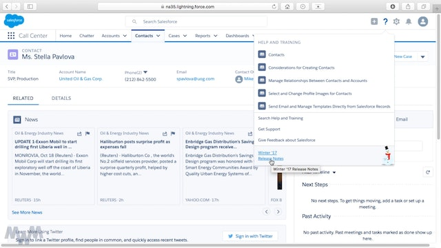 Lightning Experience Interface Quick Tour