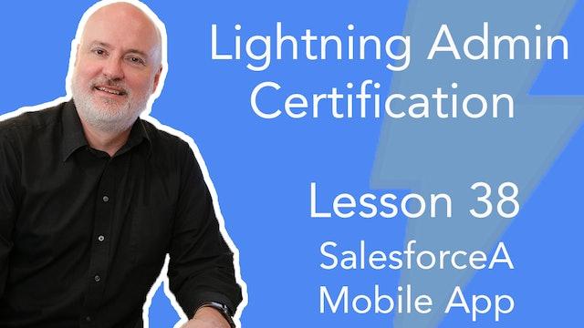 Lesson 38 - SalesforceA Mobile App for User Administration