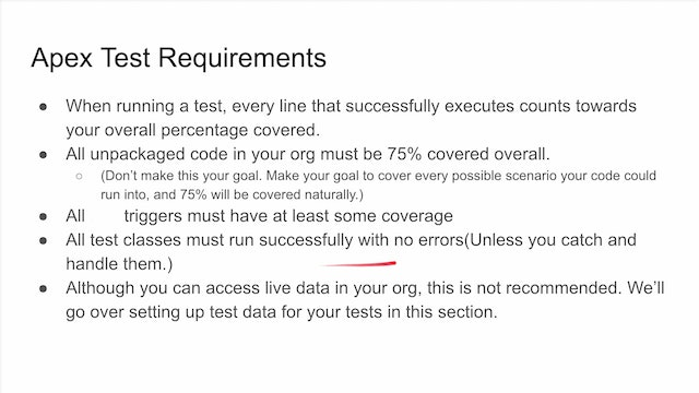 Lesson 54 - Introduction to Testing