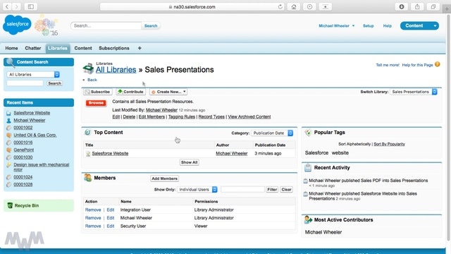 Using Salesforce Content to Equip Sales Reps