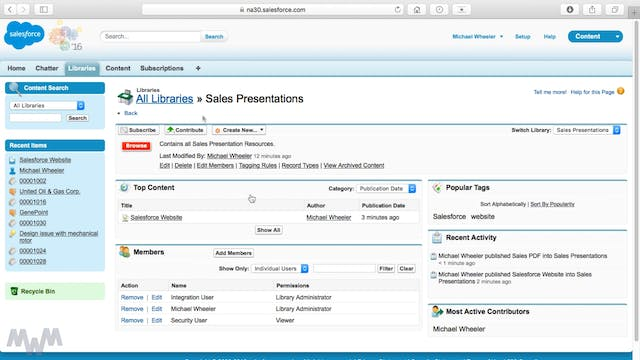 Using Salesforce Content to Equip Sal...