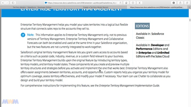 Enterprise Territory Management Capabilities and Use Cases