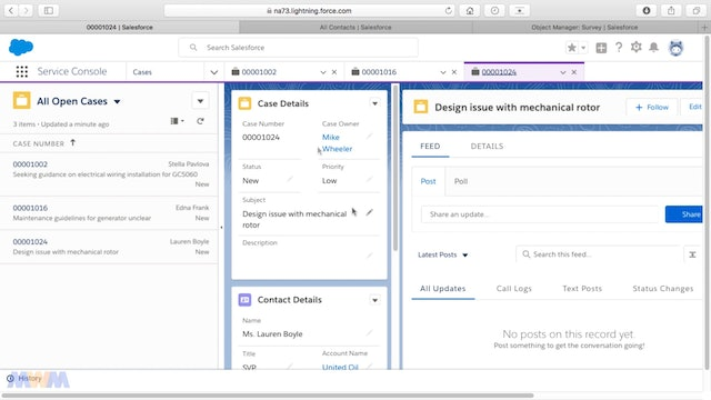 User Experience Requirements Solved by the Salesforce Lightning Service Console