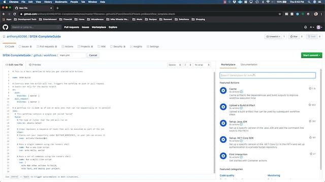 Lesson 40 - Set up Salesforce CLI Git...