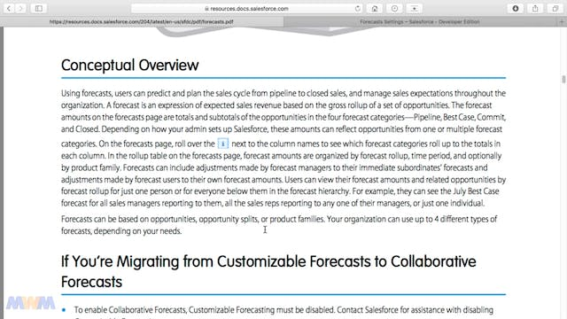 Collaborative Forecasting