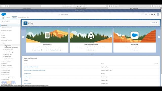 Creating a Custom App
