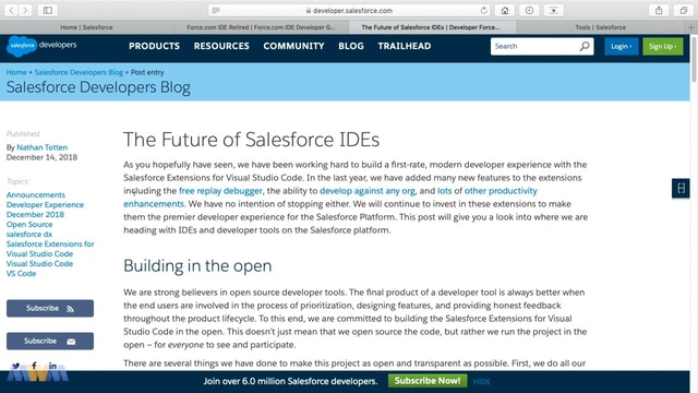 Force.com IDE