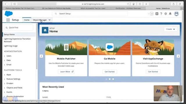 Week 1 - Part 3 - Live Platform App Builder Replay