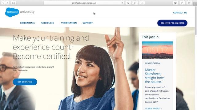 About the Platform App Builder Certification – Formerly Dev 401