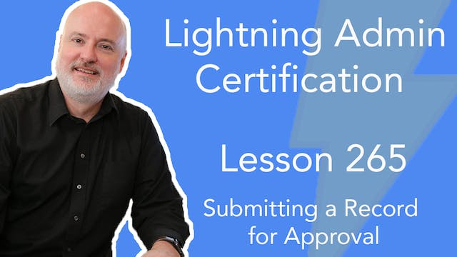 Lesson 265 - Submitting a Record for ...