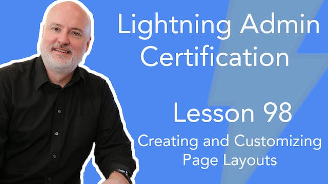 Lesson 98 - Creating and Customizing ...