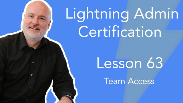 Lesson 63 - Team Access