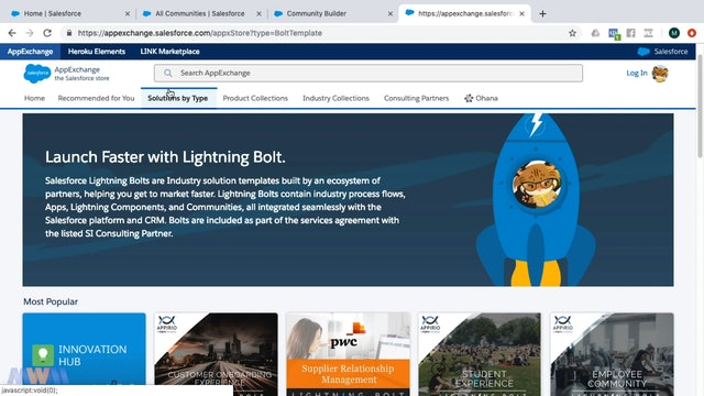 Lightning Bolt Solutions, Ideas and Questions in Communities