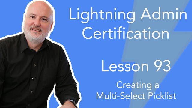 Lesson 93 - Creating a Multi-Select P...