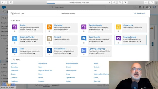 Assigning the Service Cloud Feature L...