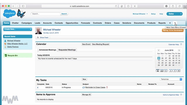 Customizing Your Display and Layout Settings in Salesforce