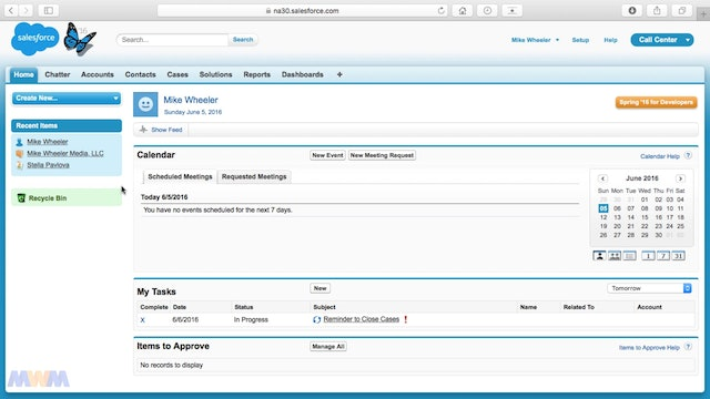 Setting Up Your 'My Profile' Page in Salesforce