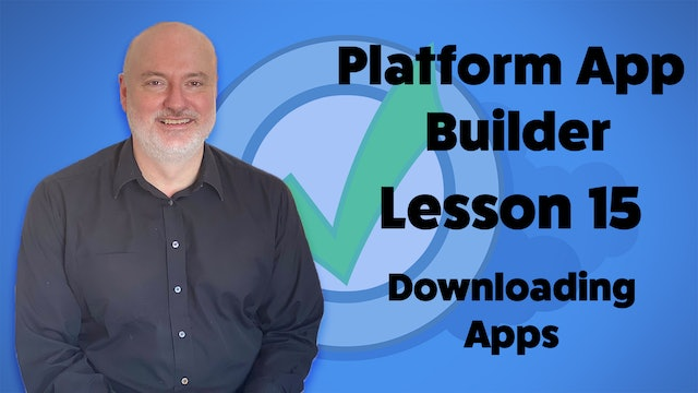Lesson 15 - Helpful Practice Activity – Downloading Apps off the AppExchange
