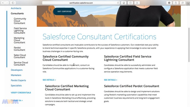 Downloading and Reviewing the Sales Cloud Consultant Exam Guide