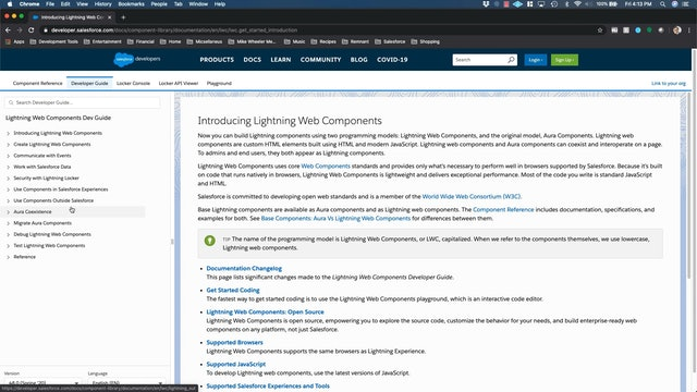 Lesson 31 - Creating Lightning Web Components