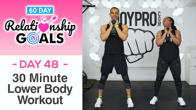 30 Minute PROTECTION Lower Body Workout - Relationship Goals #48