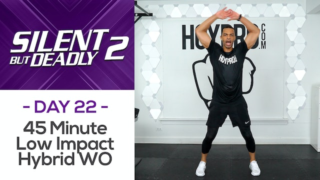 45 Minute Hybrid Low Impact Workout + Abs - SBD2 #22
