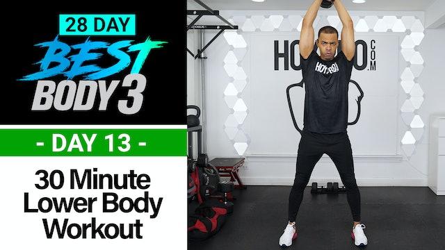 30 Minute Lower Body Plyo Strength Workout - Best Body 3 #13