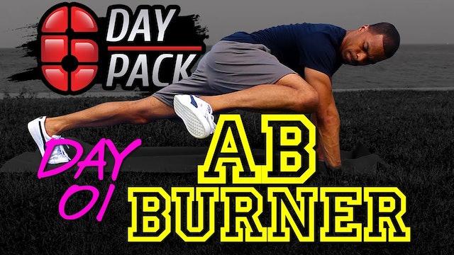 Day 01: 10 Minute Ab Burner - Six Day Six Pack
