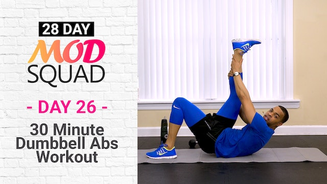 30 Minute Dumbbell Abs Workout