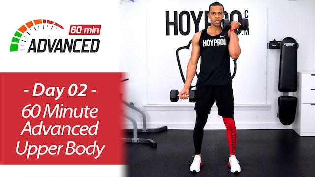 60 Minute Advanced Upper Body Workout - Advanced 60 #02