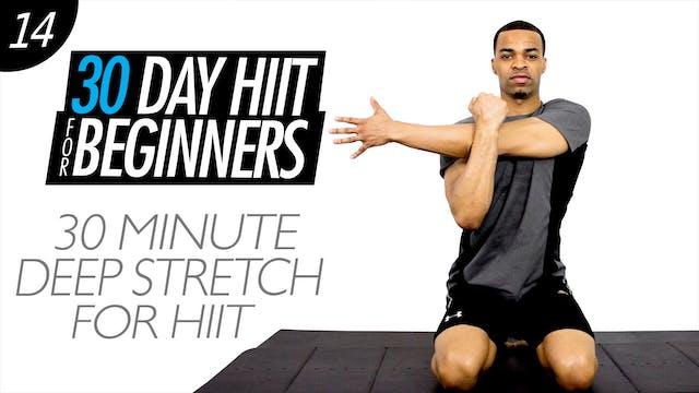 30 Minute Intermediate Kickboxing Workout - Intermediate #12