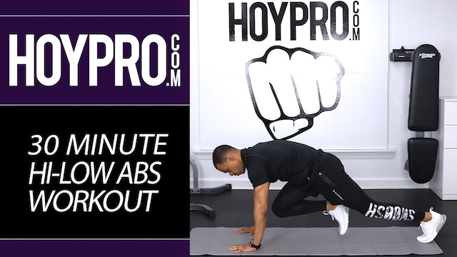30 Minute Hi-Low Six-Pack Abs Toning Workout