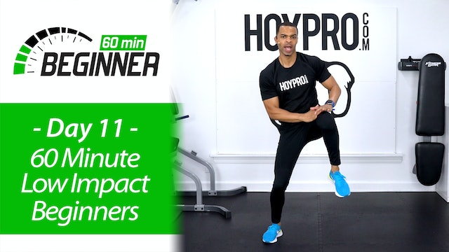 60 Minute Low Impact Workout for Beginners - Beginners 60 #11