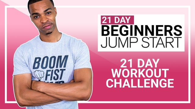 21 Day Beginners Jump Start - Workout Plan to Get You Started