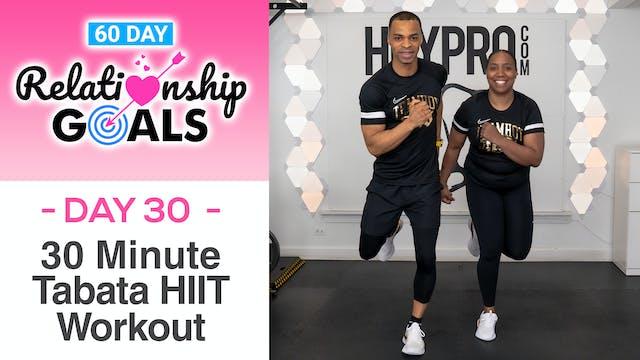 30 Minute CELEBRATION Tabata HIIT Workout - Relationship Goals #30