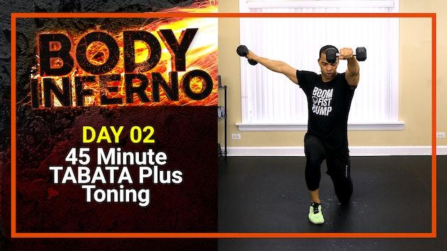 Inferno #02 - 45 Minute Tabata Plus Toning Workout