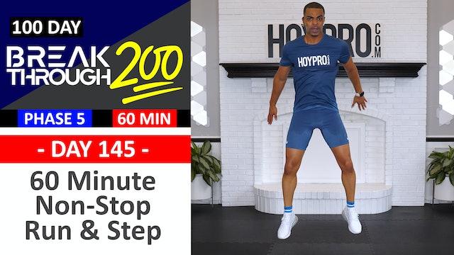 #145 - 60 Min Non-Stop Step & Sprint Workout - Breakthrough200