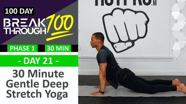 #21 - 30 Minute Gentle Deep Yoga Stre...
