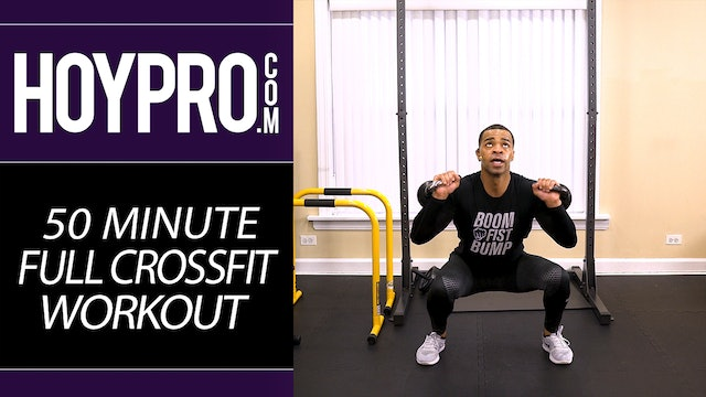 50 Minute EXTREME Full Body Crossfit Workout