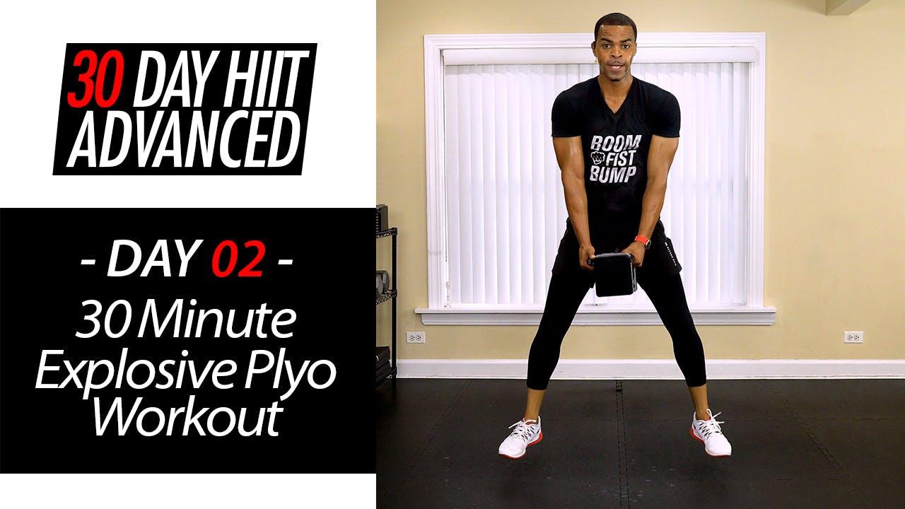 30 Minute Explosive Plyo Full Body Hybrid Tone Workout