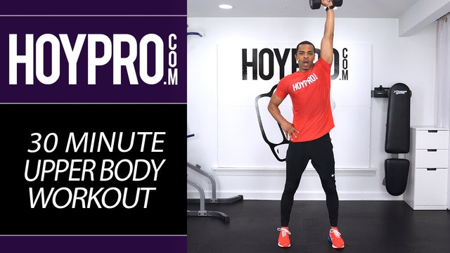 30 Minute Advanced Upper Body Arms Workout
