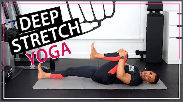 35 Minute Super Sore Body Deep Yoga Stretch