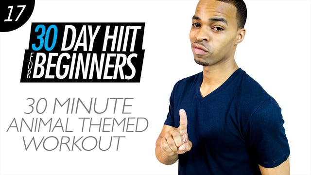 Beginners #17 - 30 Minute Animal Flow Themed Workout
