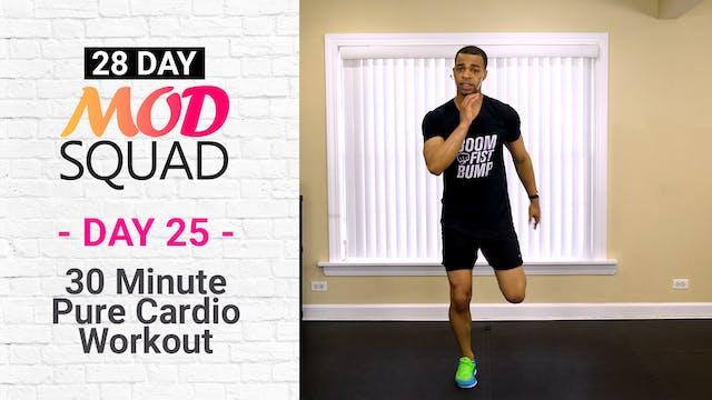 30 Minute Pure Cardio Workout - Mod Squad #25