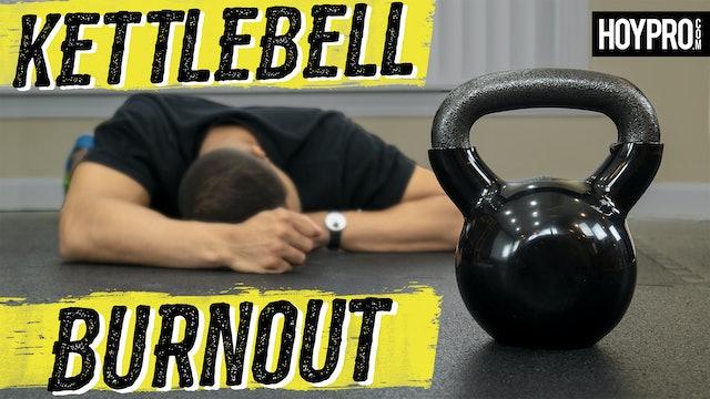 30 Minute BRUTAL Kettlebell HIIT Workout
