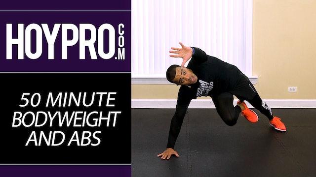 50 Minute Extreme Bodyweight Blitz + Abs Workout - No Equipment Workout