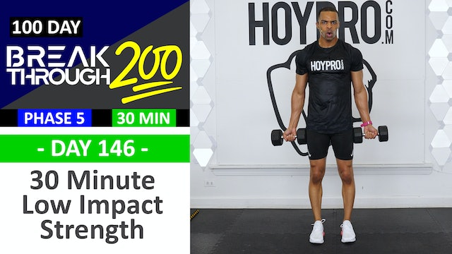 #146 - 60 Minute Low Impact Strength(Classic) - Breakthrough200
