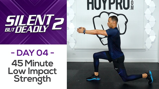 45 Minute Full Body Low Impact Strength Workout - SBD2 #04