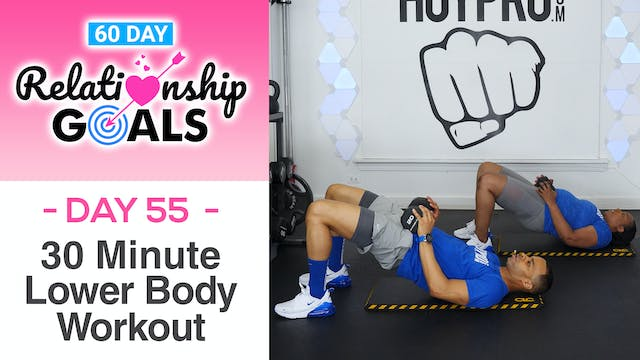 30 Minute SUBMISSION Lower Body Workout - Relationship Goals #55